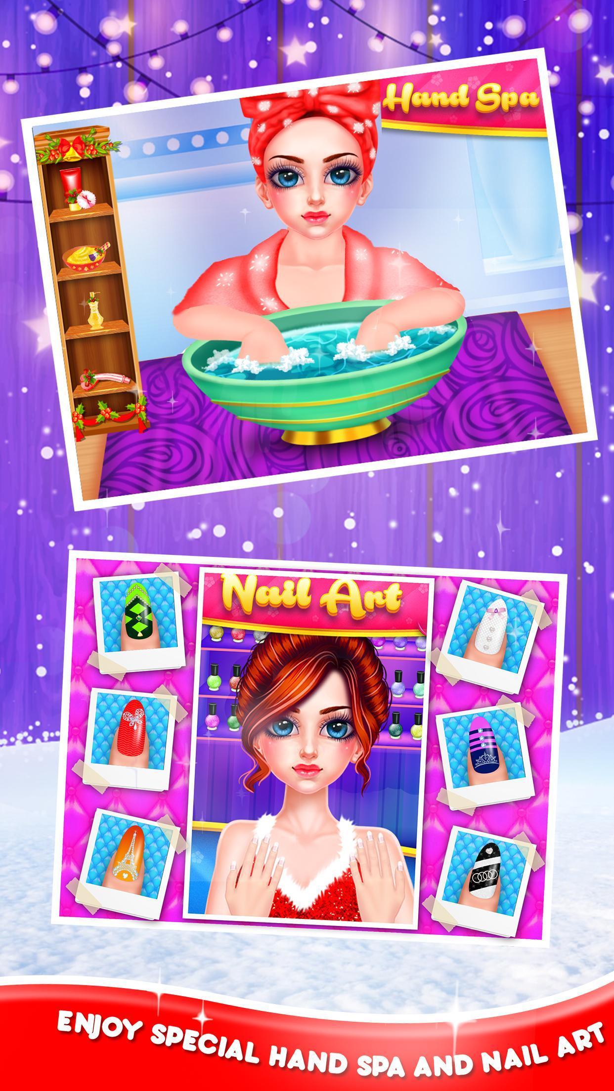 Christmas Night Celebration Girl Spa & Decor Game 2.2 Screenshot 2
