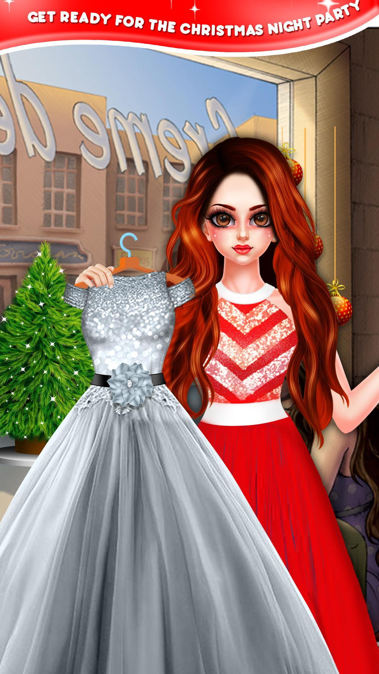 Christmas Night Celebration Girl Spa & Decor Game 2.2 Screenshot 3