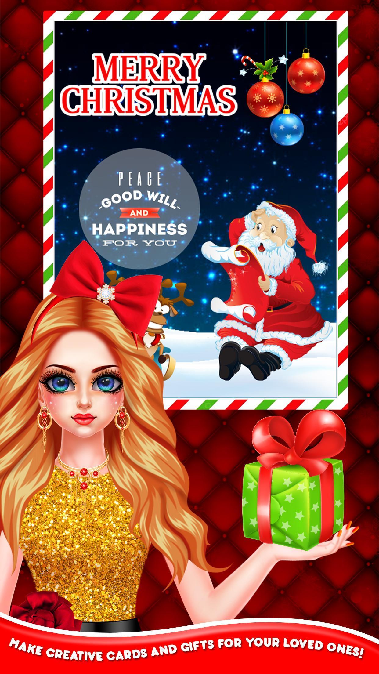 Christmas Night Celebration Girl Spa & Decor Game 2.2 Screenshot 4