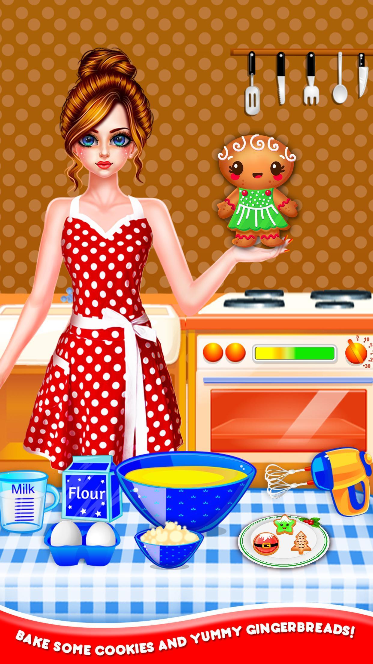 Christmas Night Celebration Girl Spa & Decor Game 2.2 Screenshot 5