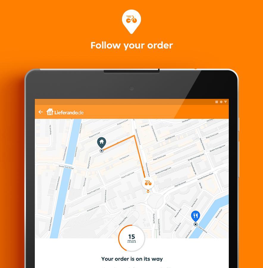 Lieferando.de - Order Food 6.22.0 Screenshot 16