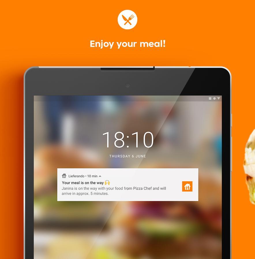 Lieferando.de - Order Food 6.22.0 Screenshot 17