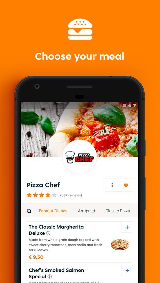 Lieferando.de - Order Food 6.22.0 Screenshot 3
