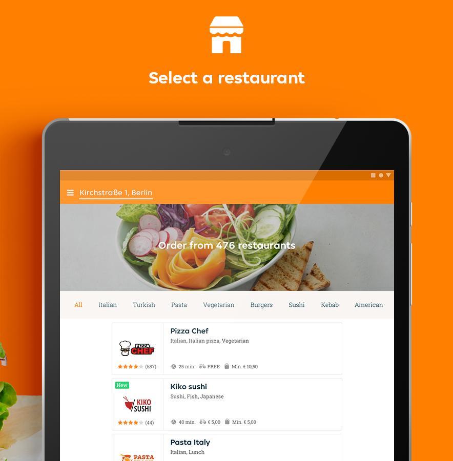 Lieferando.de - Order Food 6.22.0 Screenshot 8