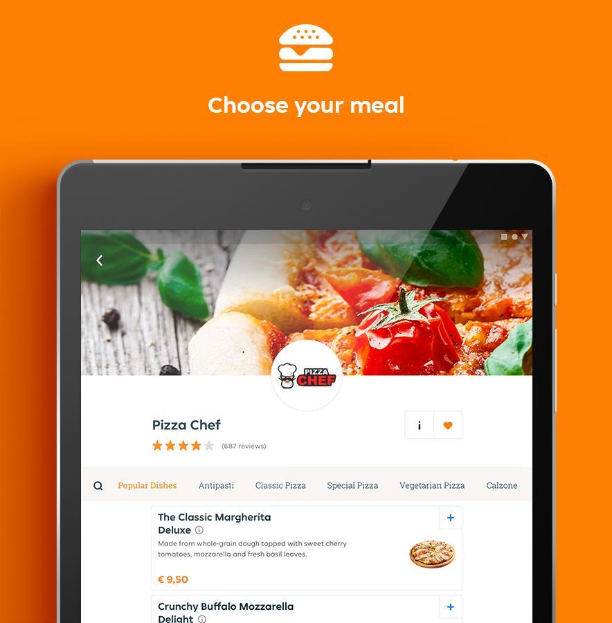 Lieferando.de - Order Food 6.22.0 Screenshot 9