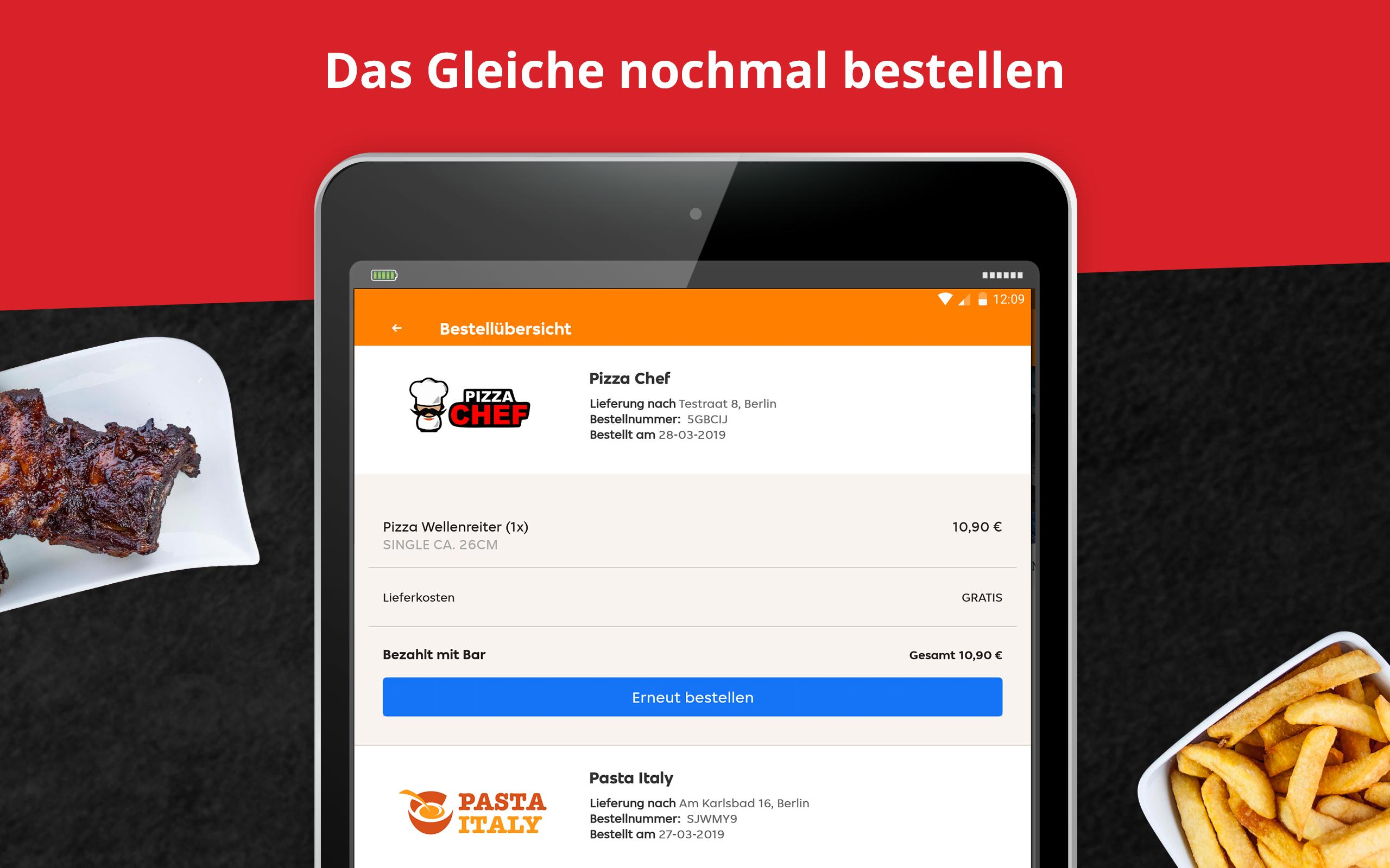 LIEFERHELD | Order Food 6.9.0 Screenshot 10
