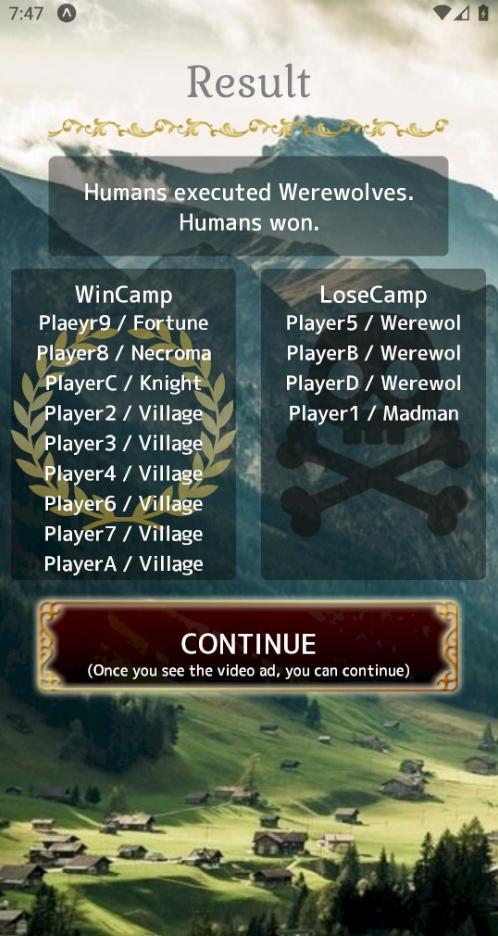 Werewolf In a Cloudy Village 5.1.1 Screenshot 8