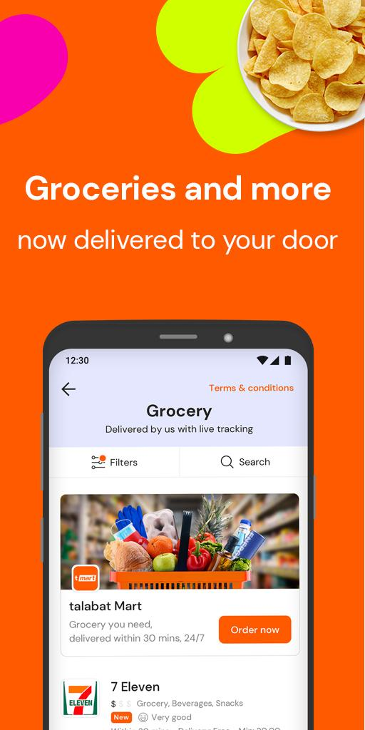 talabat Food & Grocery Delivery 7.4.8 Screenshot 4