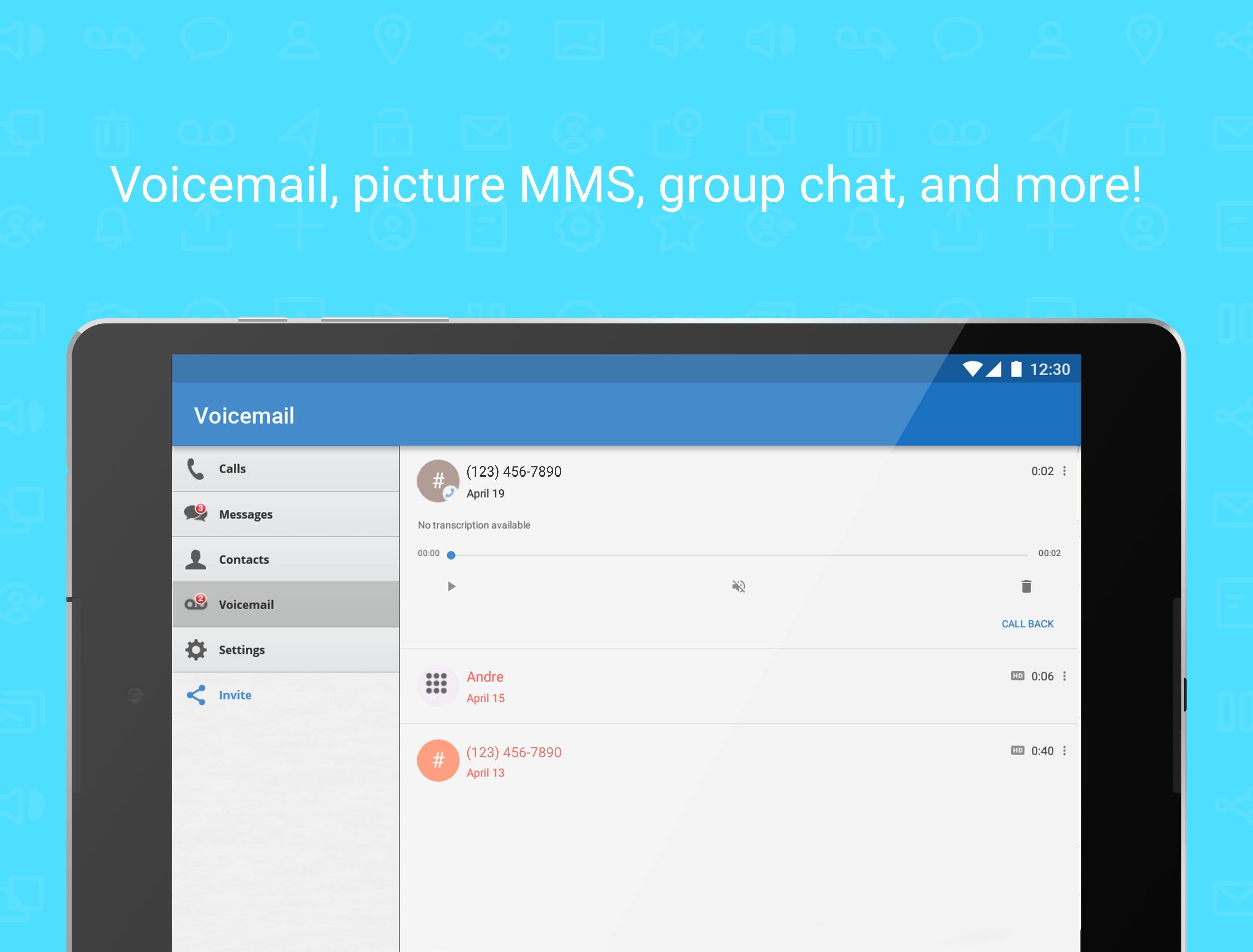 Talkatone Free Texts, Calls & Phone Number 6.4.2 Screenshot 11