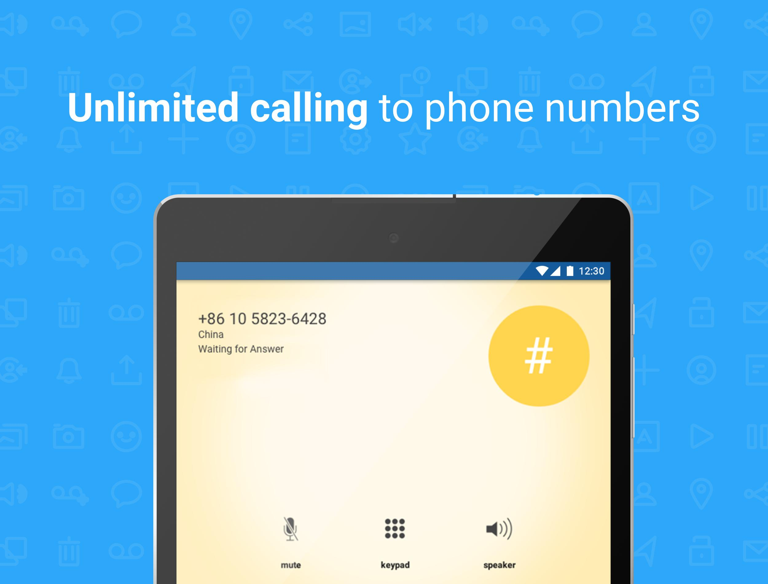 Talkatone Free Texts, Calls & Phone Number 6.4.2 Screenshot 12