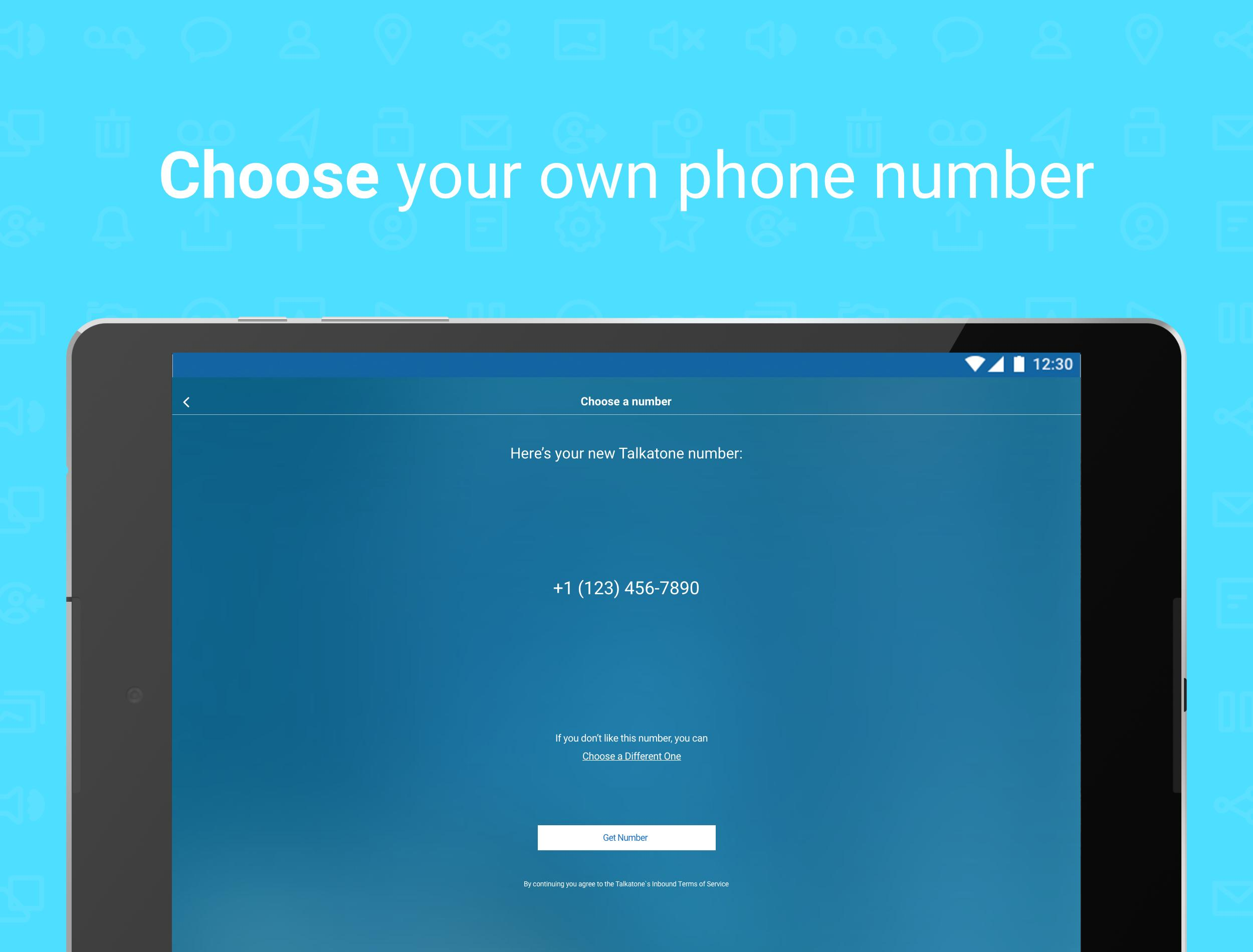 Talkatone Free Texts, Calls & Phone Number 6.4.2 Screenshot 13