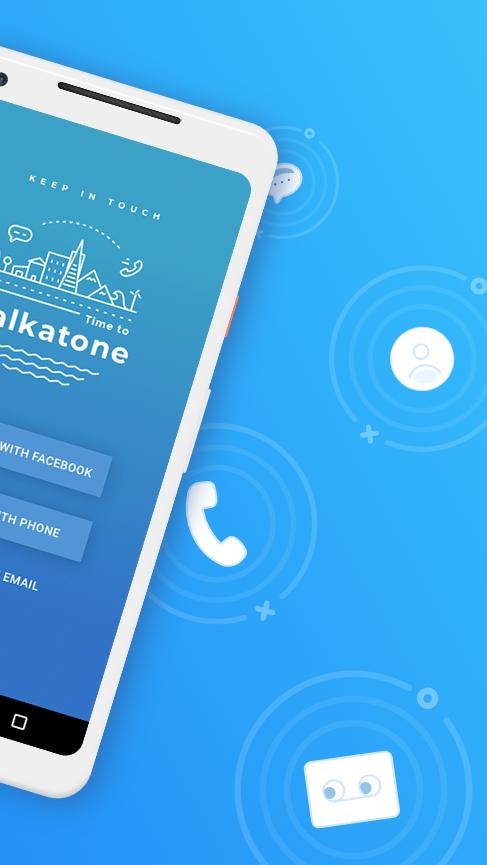 Talkatone Free Texts, Calls & Phone Number 6.4.2 Screenshot 2