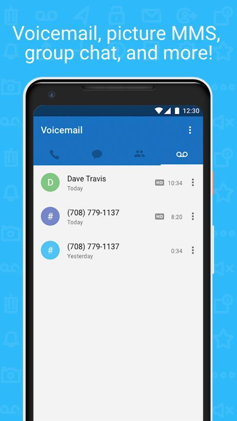 Talkatone Free Texts, Calls & Phone Number 6.4.2 Screenshot 5
