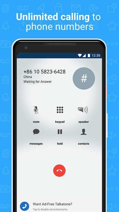Talkatone Free Texts, Calls & Phone Number 6.4.2 Screenshot 6