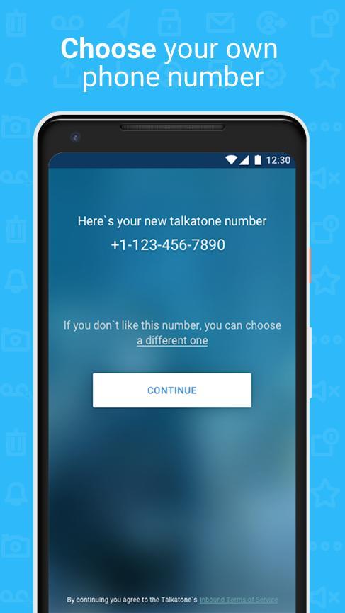 Talkatone Free Texts, Calls & Phone Number 6.4.2 Screenshot 7