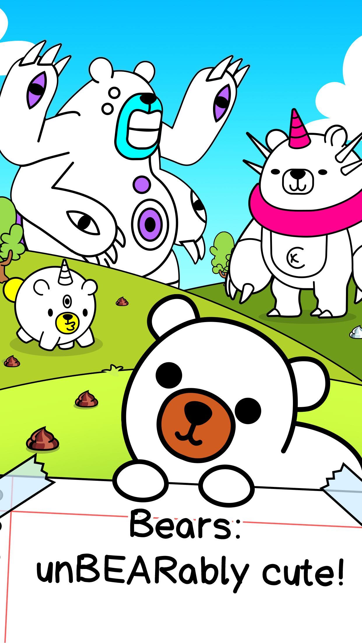 Bear Evolution UnBEARably Fun Clicker Game 1.0 Screenshot 1