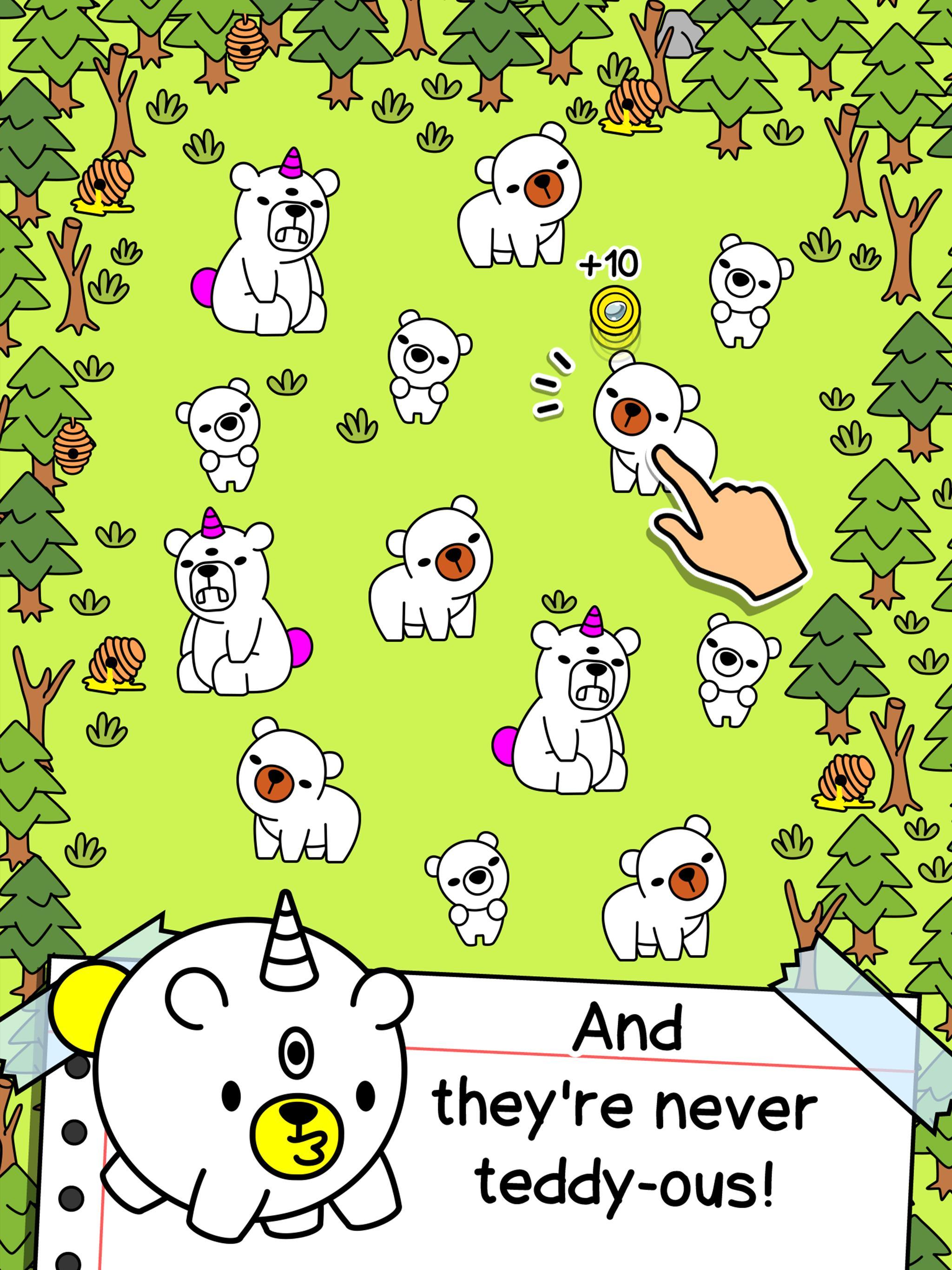 Bear Evolution UnBEARably Fun Clicker Game 1.0 Screenshot 10
