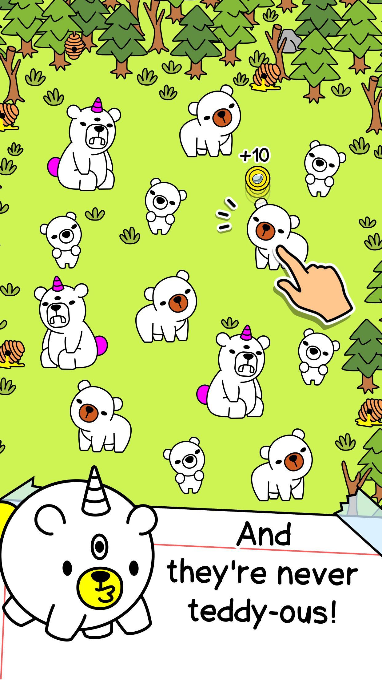 Bear Evolution UnBEARably Fun Clicker Game 1.0 Screenshot 2
