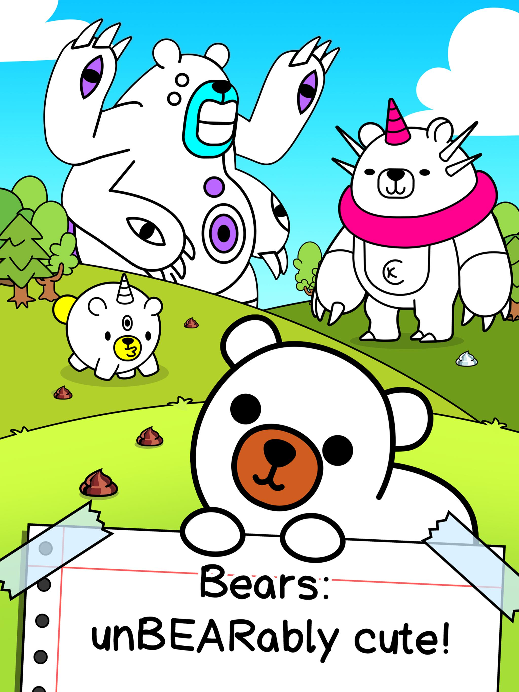 Bear Evolution UnBEARably Fun Clicker Game 1.0 Screenshot 5