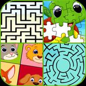 العاب ذكاء اطفال و بنات تعليمية التعليم و الذكاء app icon