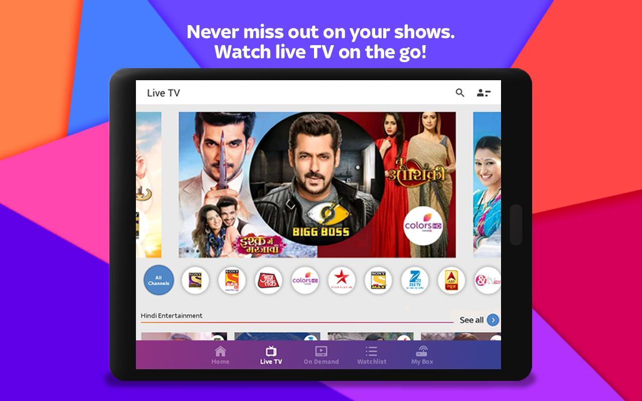 Tata Sky Mobile- Live TV, Movies, Sports, Recharge 9.9 Screenshot 11