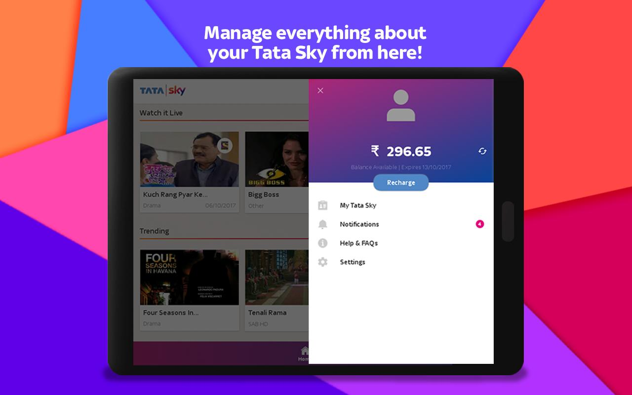 Tata Sky Mobile- Live TV, Movies, Sports, Recharge 9.9 Screenshot 13