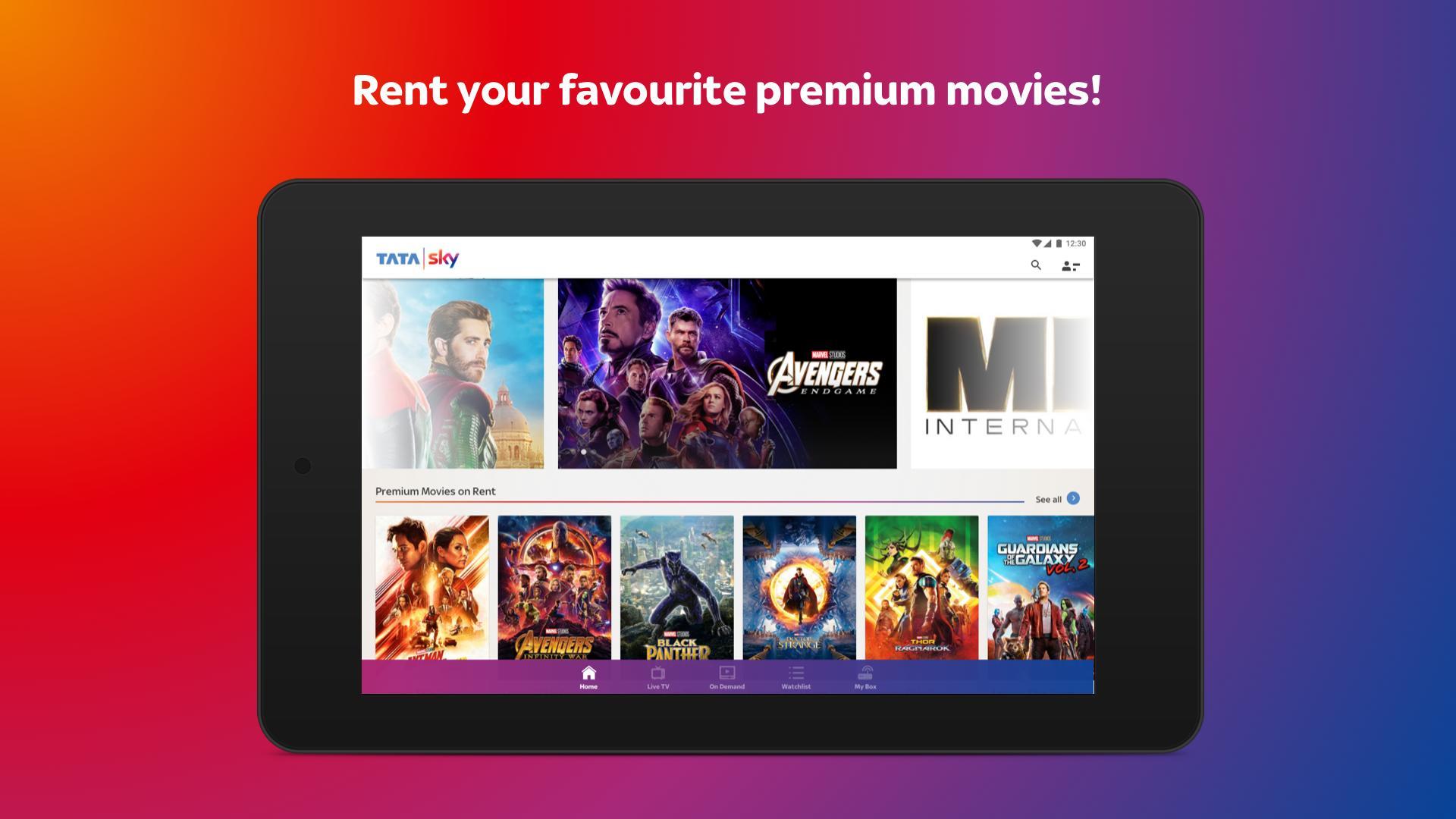 Tata Sky Mobile- Live TV, Movies, Sports, Recharge 9.9 Screenshot 15
