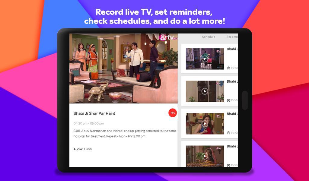 Tata Sky Mobile- Live TV, Movies, Sports, Recharge 9.9 Screenshot 18