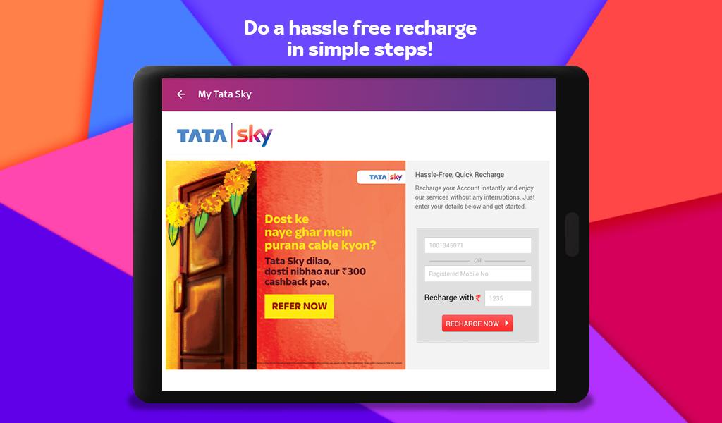 Tata Sky Mobile- Live TV, Movies, Sports, Recharge 9.9 Screenshot 19