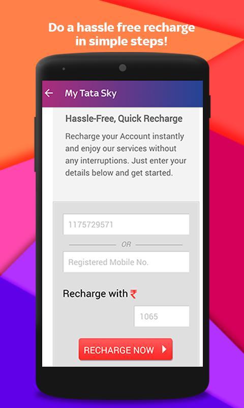 Tata Sky Mobile- Live TV, Movies, Sports, Recharge 9.9 Screenshot 5