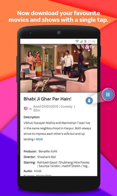 Tata Sky Mobile- Live TV, Movies, Sports, Recharge 9.9 Screenshot 6