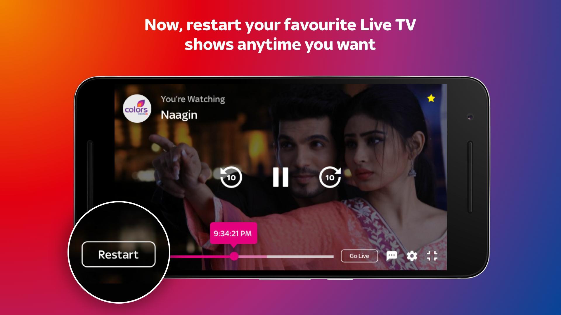 Tata Sky Mobile- Live TV, Movies, Sports, Recharge 9.9 Screenshot 7