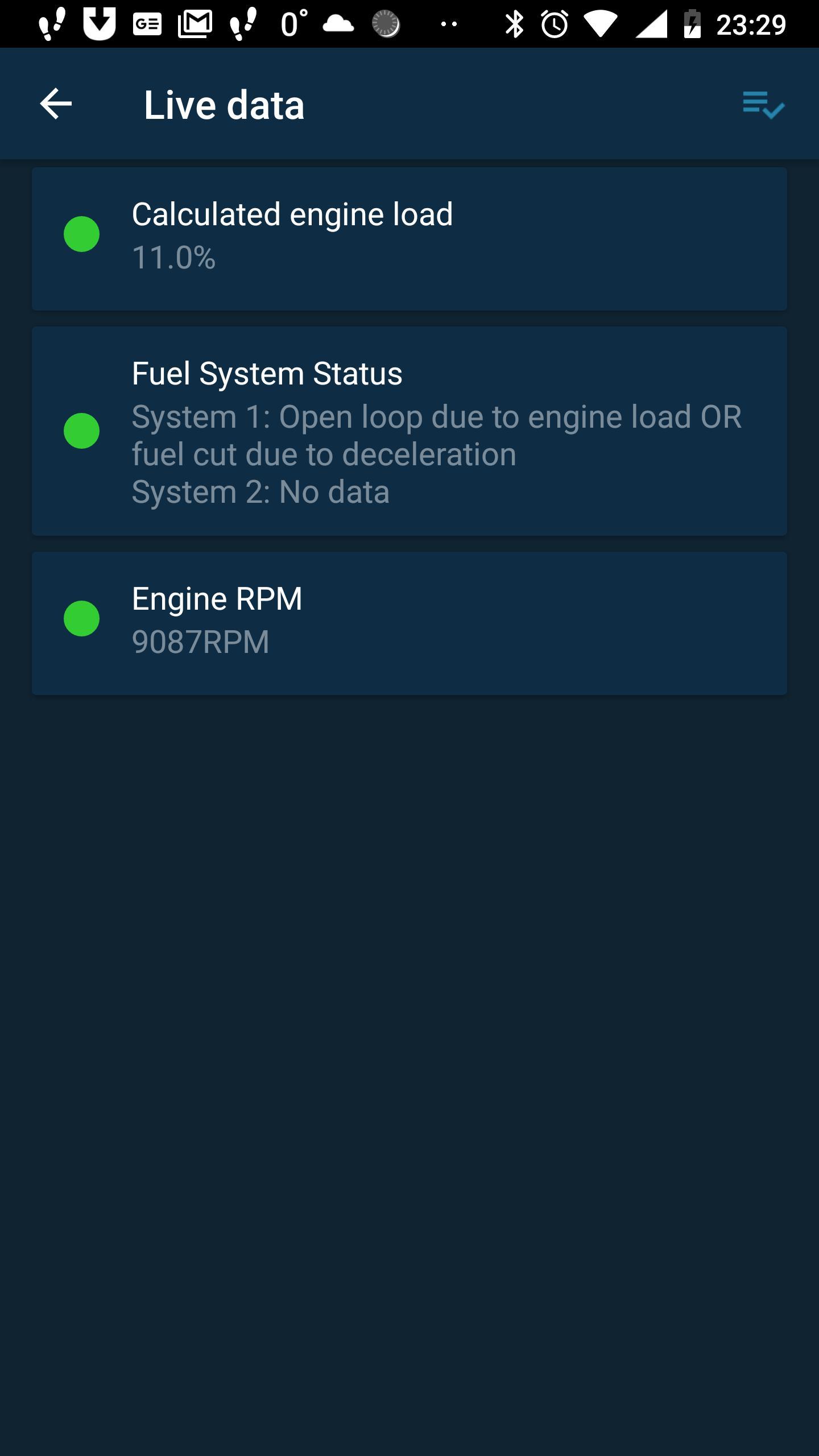 Obd Mary – OBD2 car scanner & dashboard on ELM327 1.128 Screenshot 6