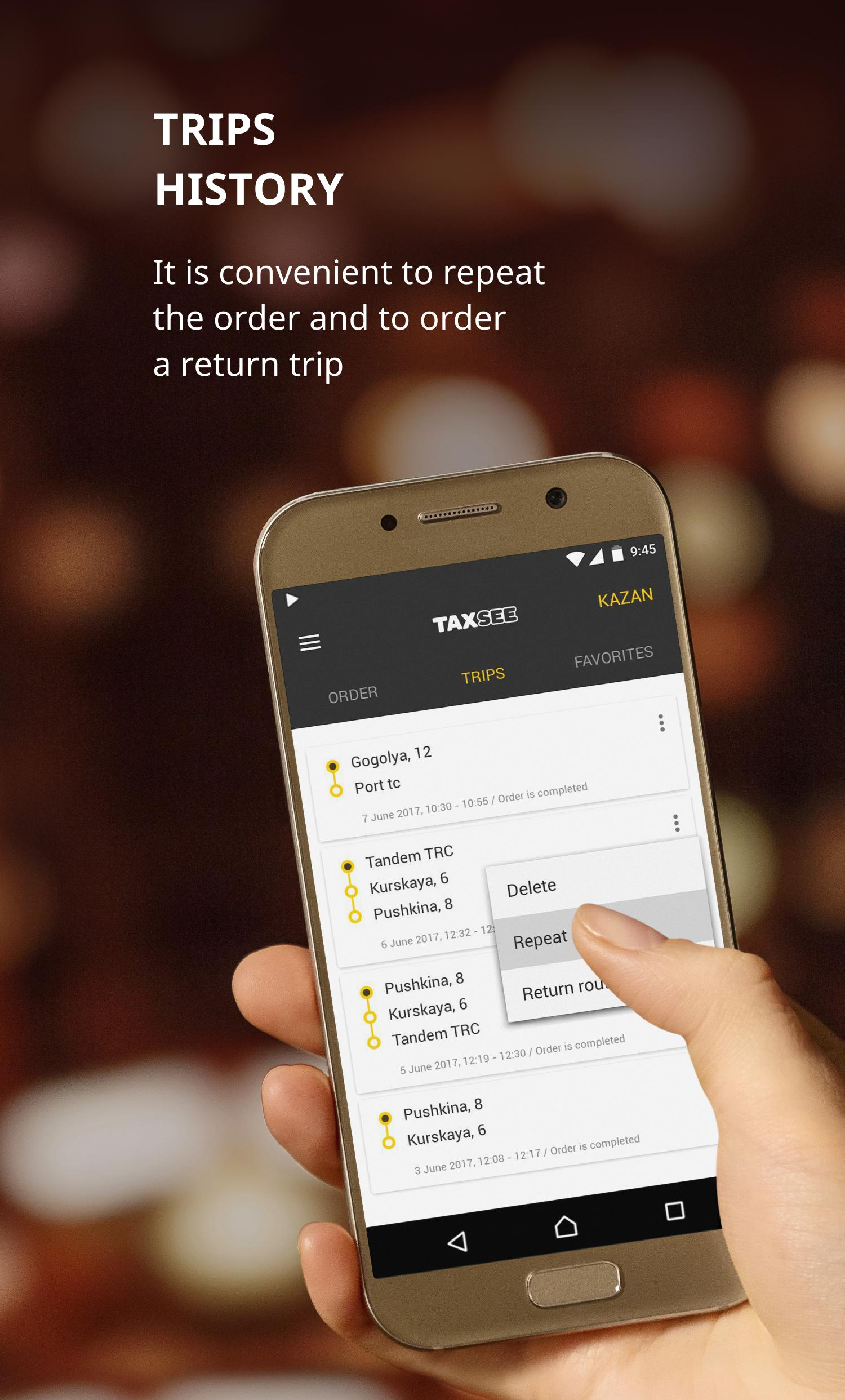 Taxsee taxi order 3.7.13 Screenshot 4