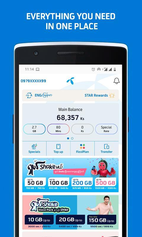 MyTelenor 3.18.0 Screenshot 1