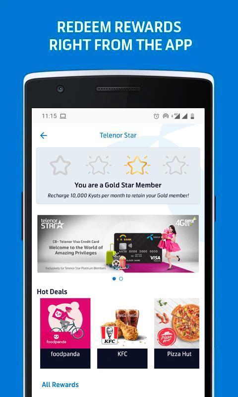 MyTelenor 3.18.0 Screenshot 4