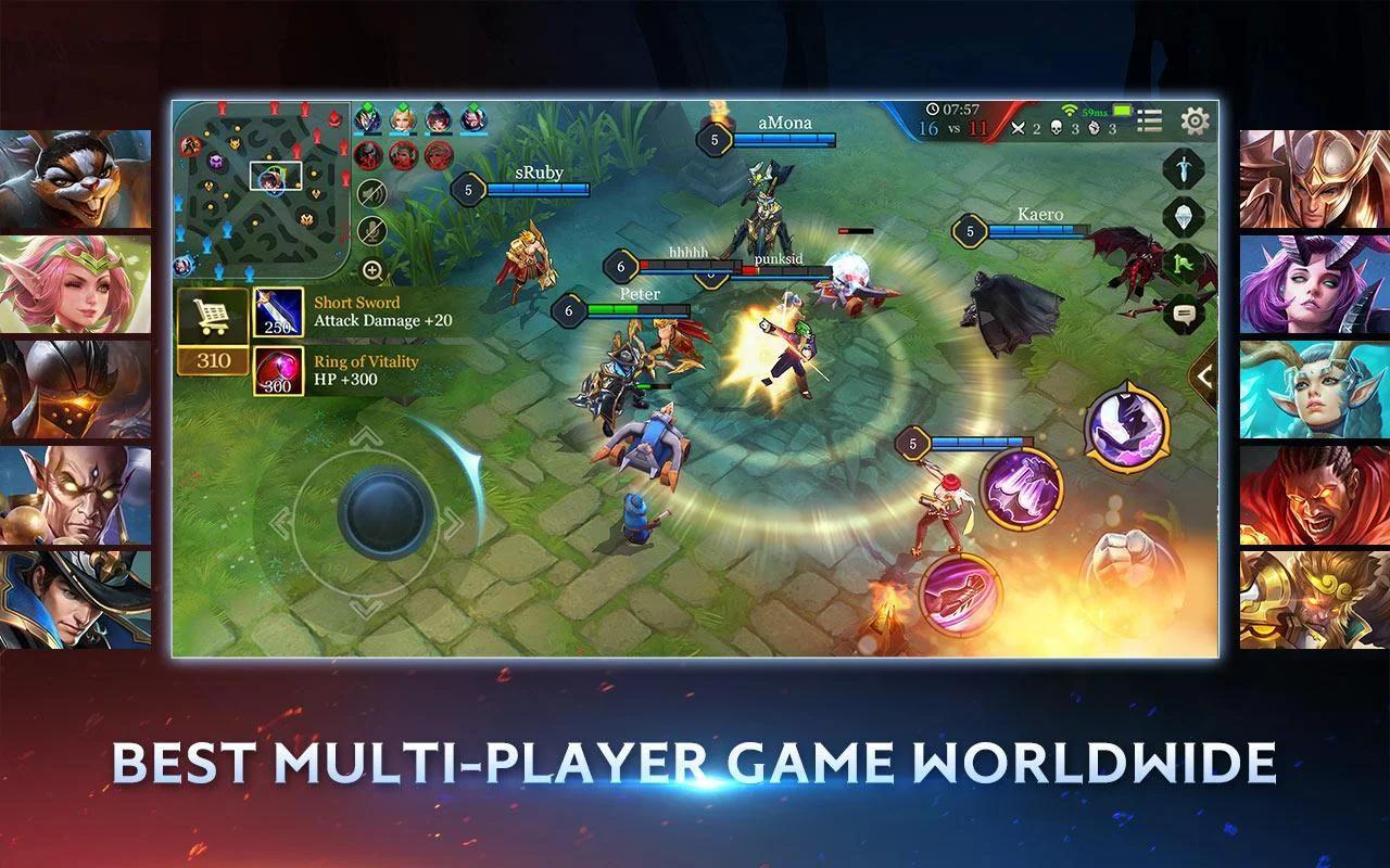 Arena of Valor: 5v5 Battle 1.26.2.2 Screenshot 2