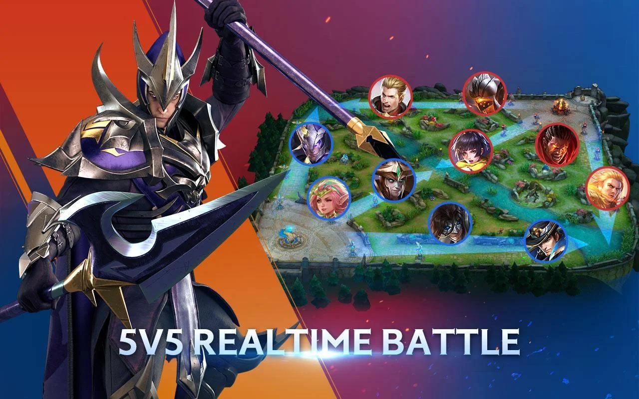 Arena of Valor: 5v5 Battle 1.26.2.2 Screenshot 3