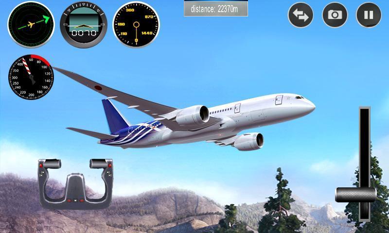 Plane Simulator 3D 1.0.7 Screenshot 1