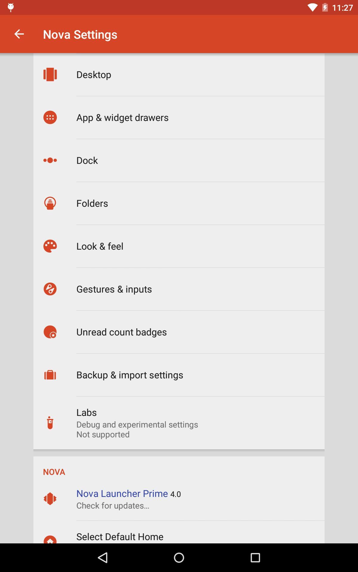 Nova Launcher 6.2.12 Screenshot 10