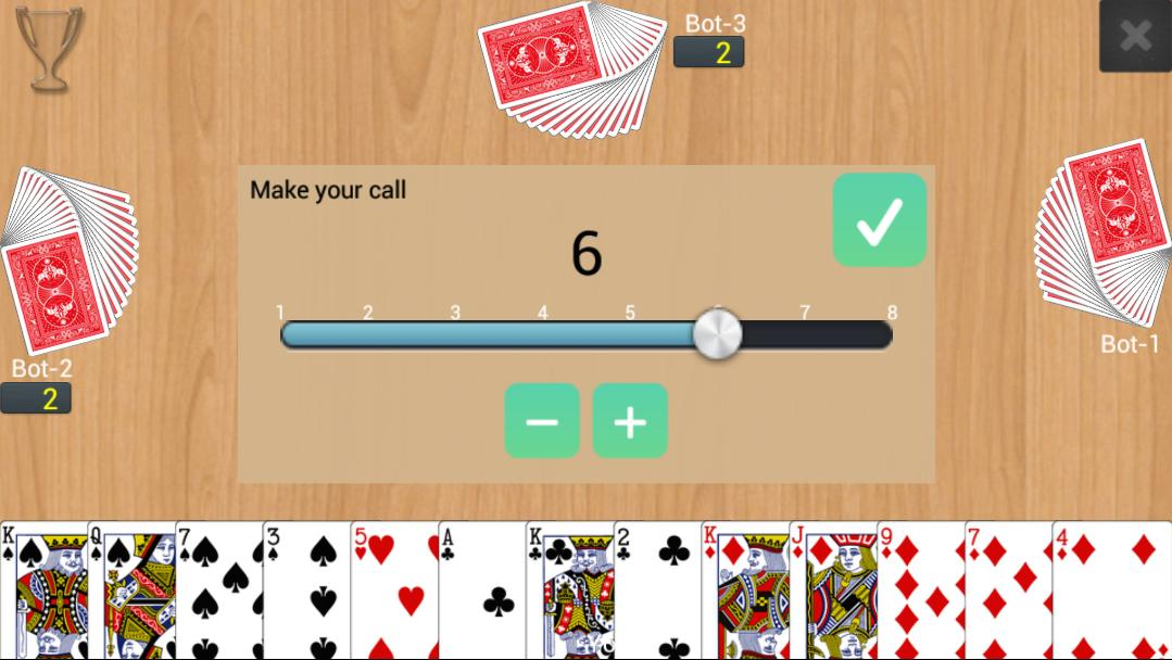 Callbreak Multiplayer 0.2.16 Screenshot 1