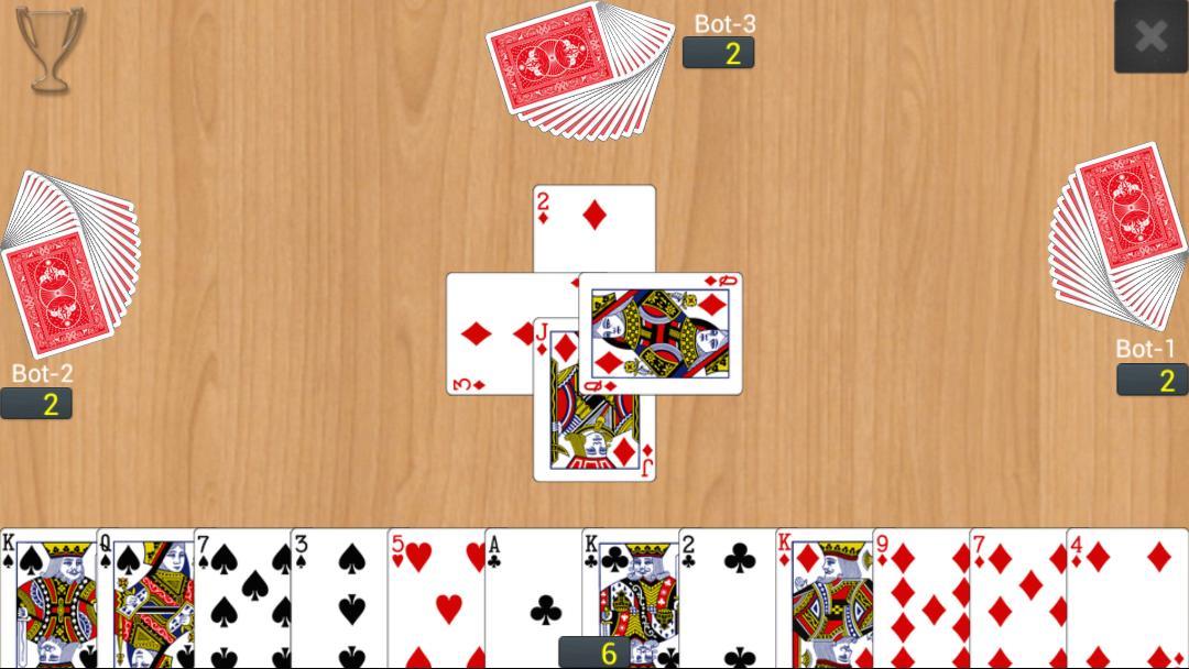 Callbreak Multiplayer 0.2.16 Screenshot 2