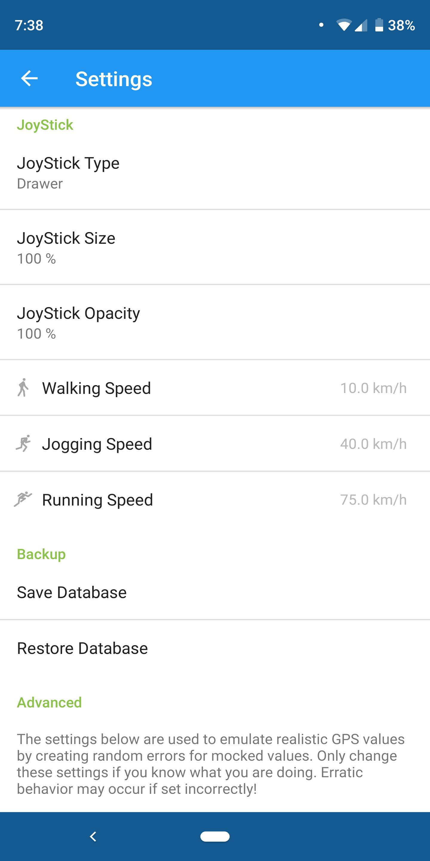 Fake GPS Location - GPS JoyStick 4.3 Screenshot 11