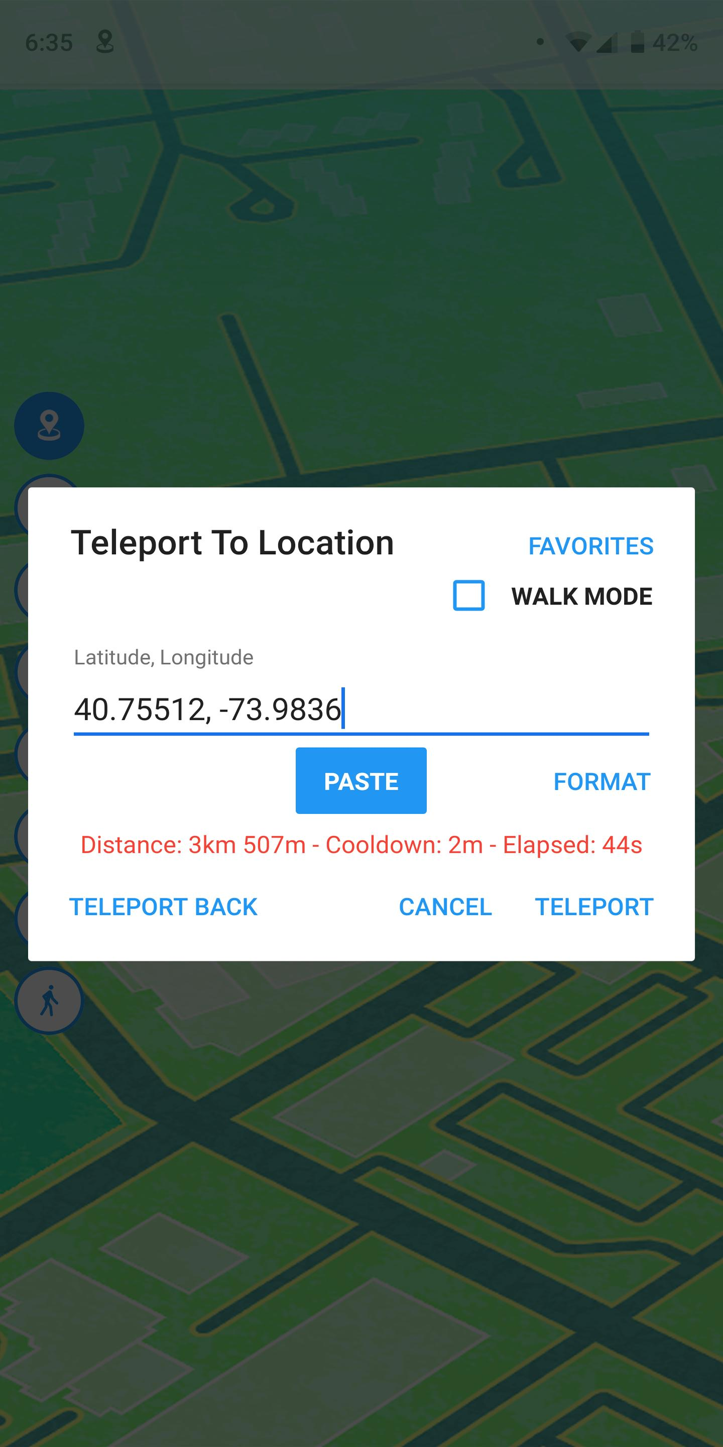 Fake GPS Location - GPS JoyStick 4.3 Screenshot 2