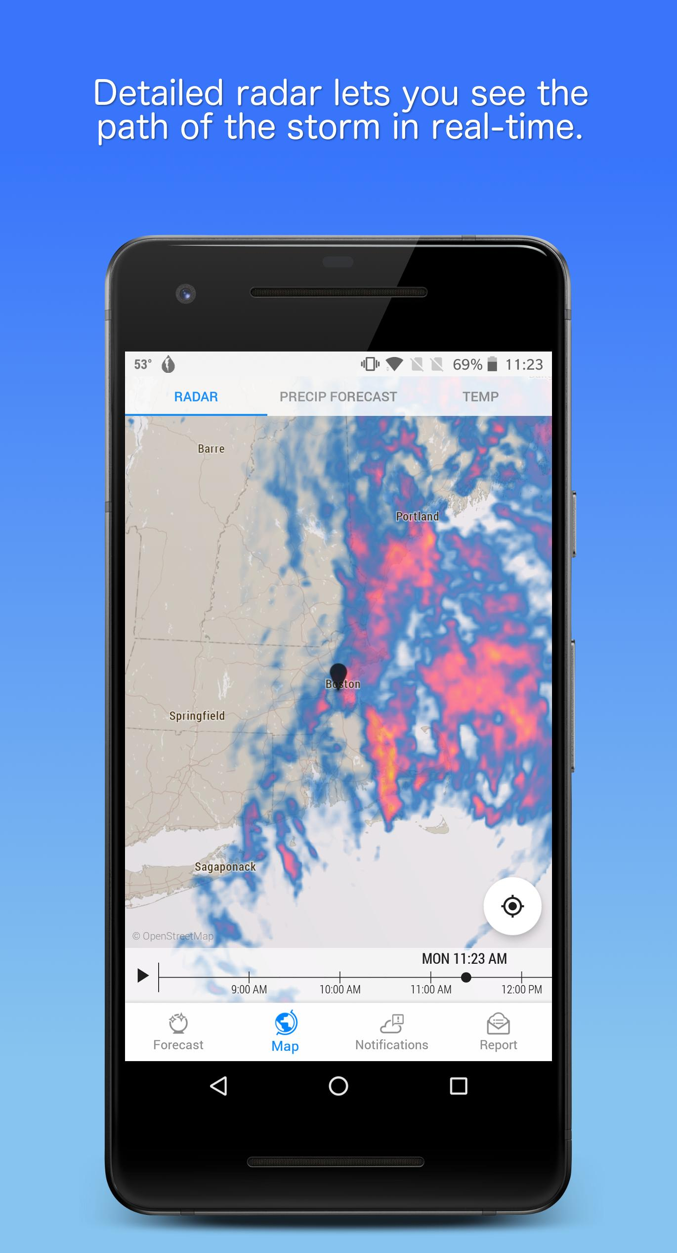 Dark Sky Hyperlocal Weather 3.0.0 Screenshot 3