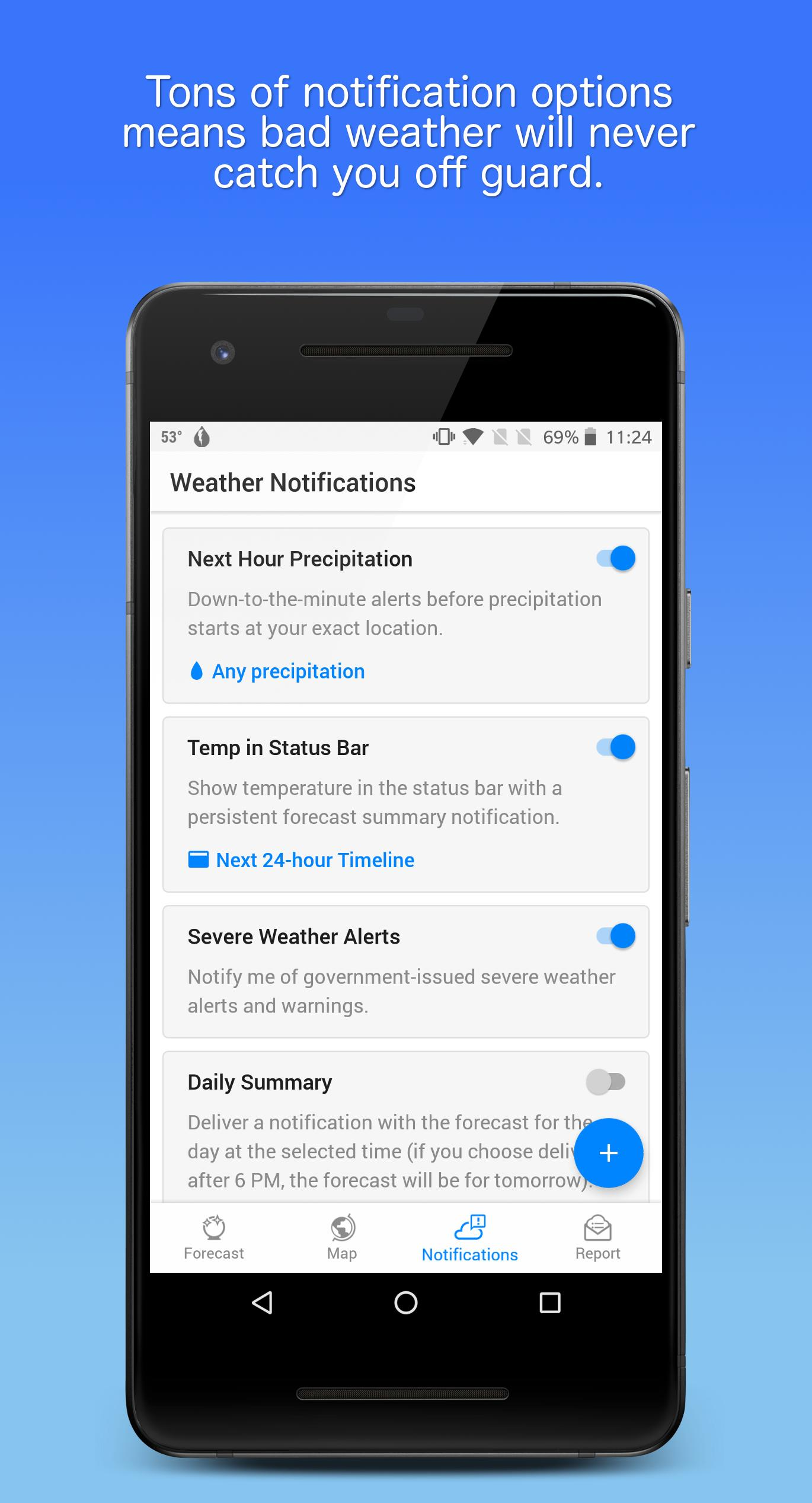 Dark Sky Hyperlocal Weather 3.0.0 Screenshot 6
