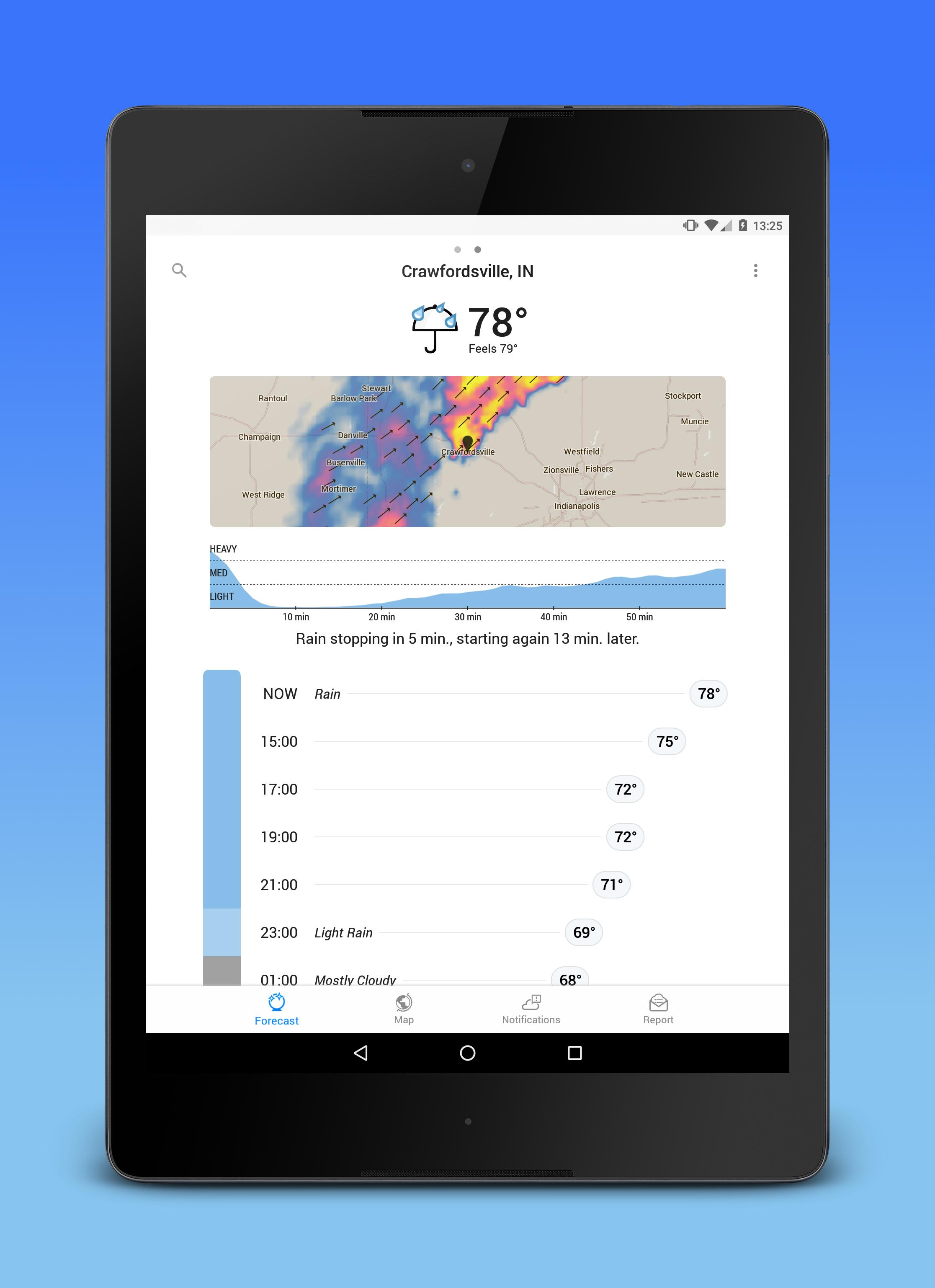 Dark Sky Hyperlocal Weather 3.0.0 Screenshot 7