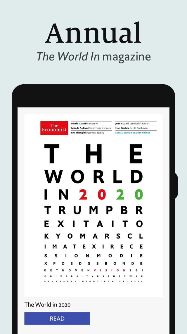 The Economist. Weekly issue 2.7.1 Screenshot 3