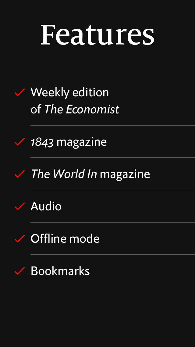 The Economist. Weekly issue 2.7.1 Screenshot 8