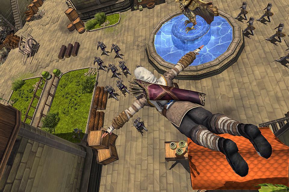 Superhero Ninja Archery Assassin Kungfu Arashi 1.6 Screenshot 1